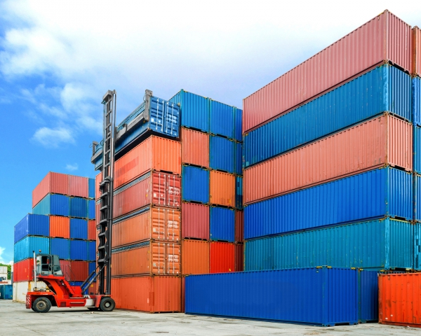 Storage of empty & loaded Containers