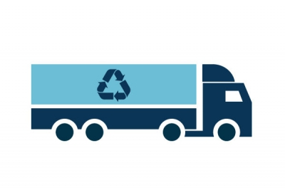 Transports of recyclable waste