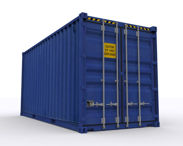 High cube palletwide containers